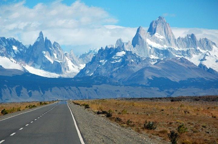 La ruta 40, Argentina.