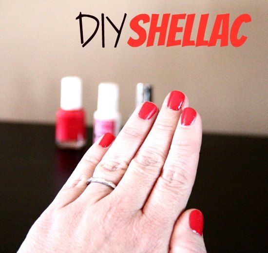 DIY Shellac. This will save me LOTS of money!