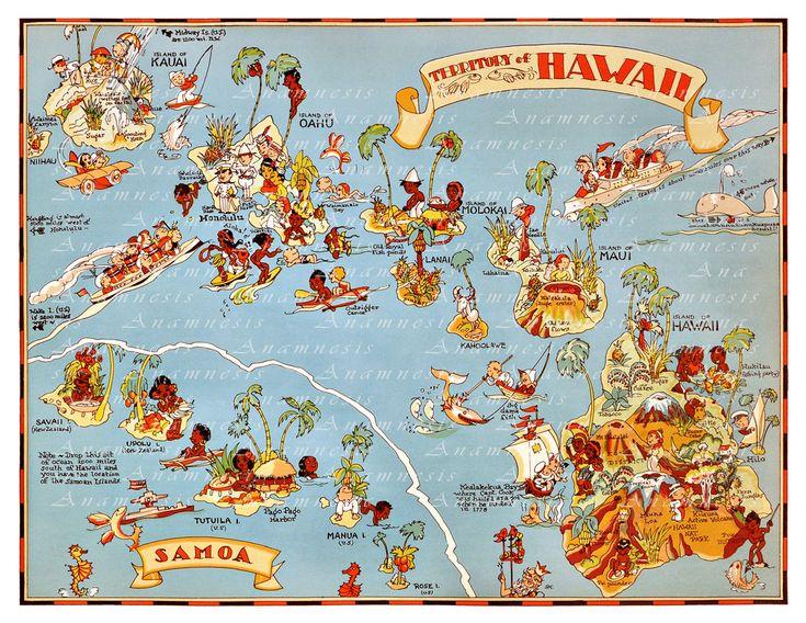 Vintage Map Decor