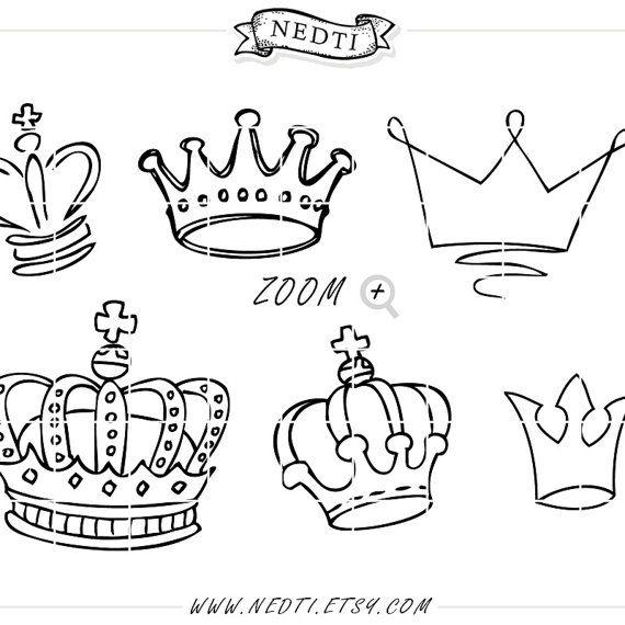 Ms de 25 ideas increbles sobre Corona dibujo en Pinterest