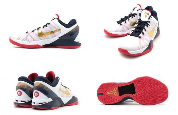 Celebrating Team USA's journey to the gold medal in these 2012 Summer  Olympics, Nike Basketball recently unveiled this all new patriotic colorway  of the ...
