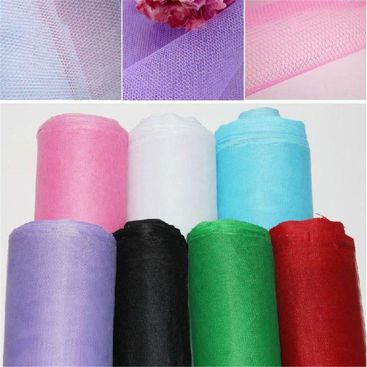ГОРЯЧАЯ! 3 м/лот Pure color жесткий тюль, сетки ткань для шитья ширина 1.6 М, продажи на метр, 1 лот = 3 метров, один кусок = 300*160 СМ купить на AliExpress