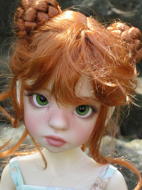 Izzie by Kaye Wiggs.  Beautiful faceup
