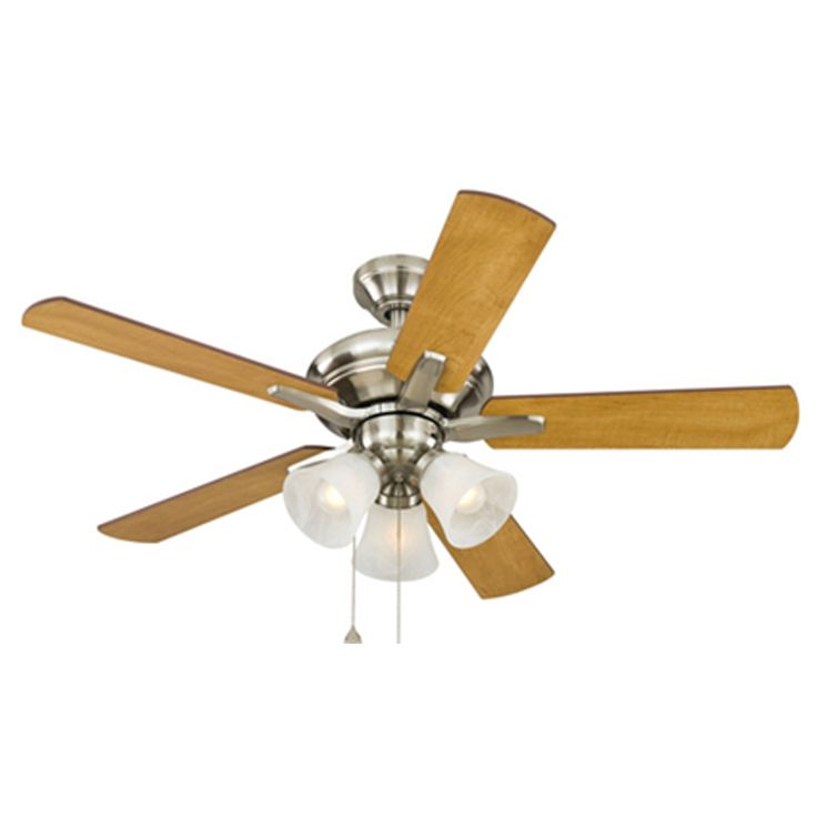 15 Best New House Images On Pinterest Brushed Nickel Ceiling Fan Fan With Light And Bass