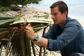 Bear Grylls and his Breitling Emergency Watch