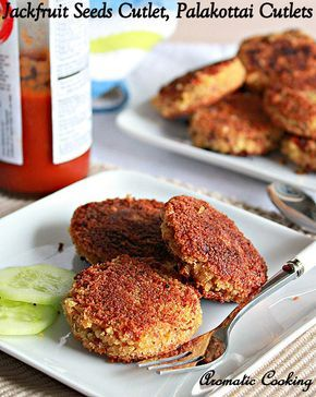 Jackfruit Seeds Cutlet,