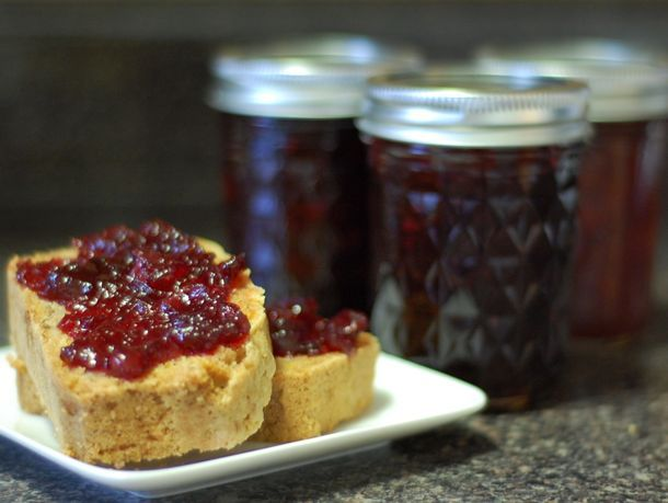 Spiced Cranberry Cabernet Jam | Serious Eats. A new spin on my usual ...