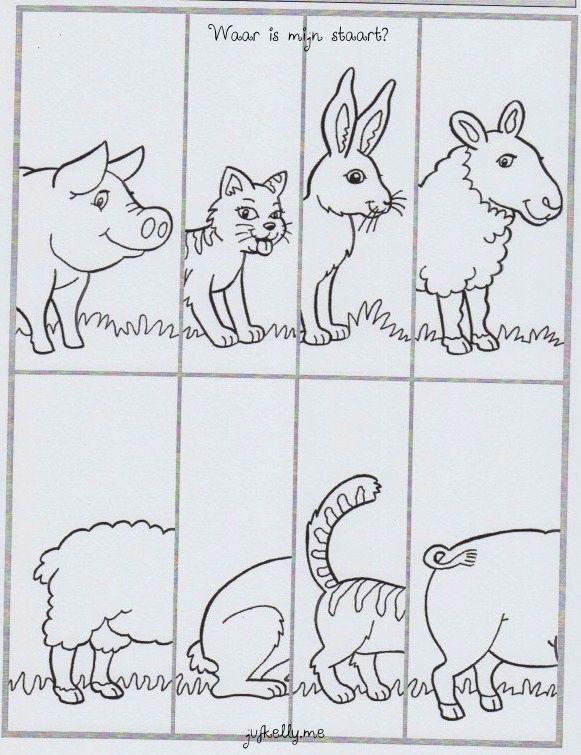 (2015-07) Hvilket dyr har hvilken hale?