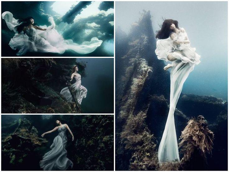 Foto bawah laut yang berlokasi di Bali ini memang paling bisa bikin orang yang melihatnya berdecak kagum. Seperti apa foto karya Von Wong ini?