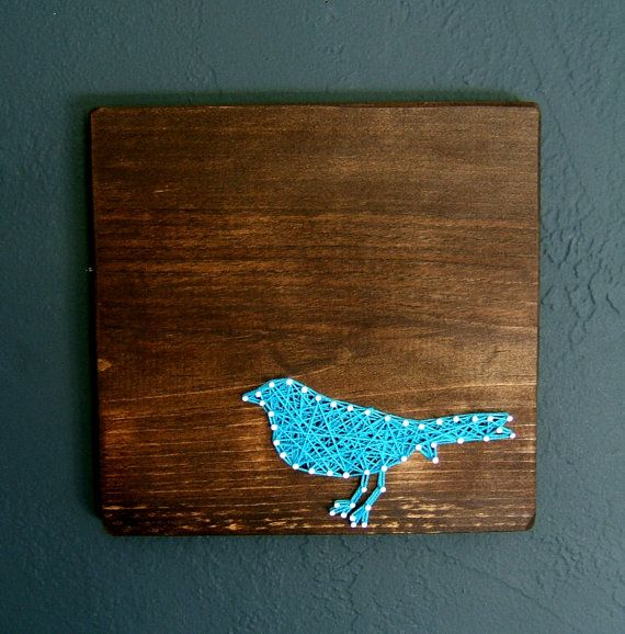 Hey, I found this really awesome Etsy listing at http://www.etsy.com/listing/161735103/blue-bird-silhouette-modern-string-art