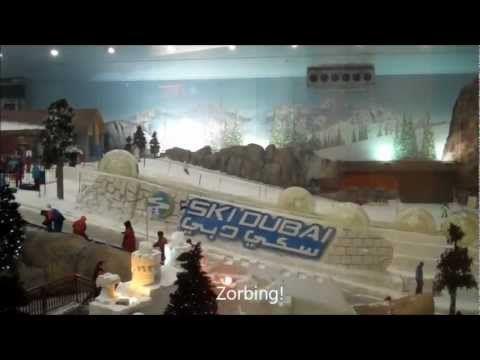 Ski Dubai Indoor Field Snow in the Desert | The Travel Tart Blog