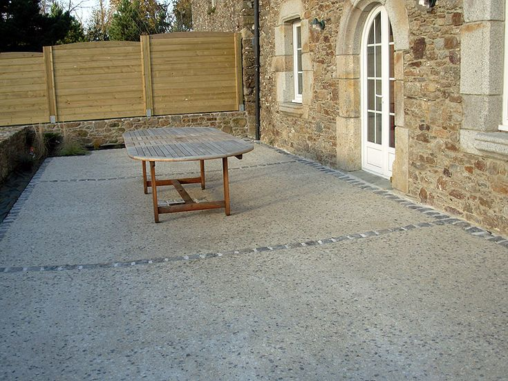 terrasse beton recherche google terrasse pinterest. Black Bedroom Furniture Sets. Home Design Ideas