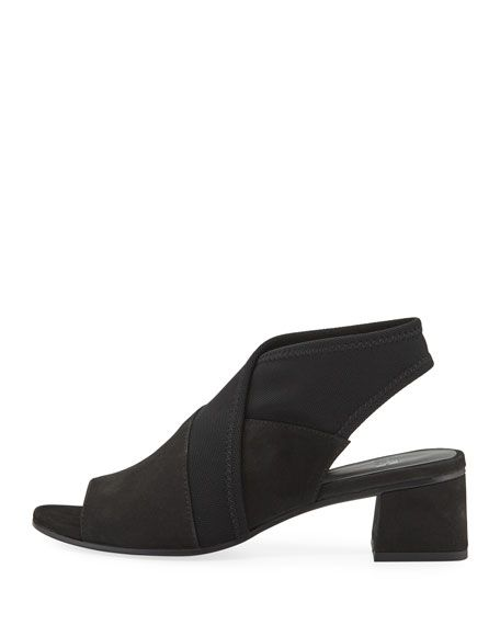ba715bbdb Eileen Fisher Luca Easy Block-Heel Sandals