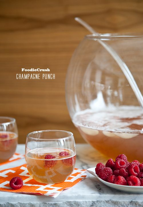 Craving > Ring In the New Year with Champagne Punch | foodiecrush