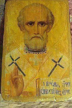 Святой Николай (старинная икона)