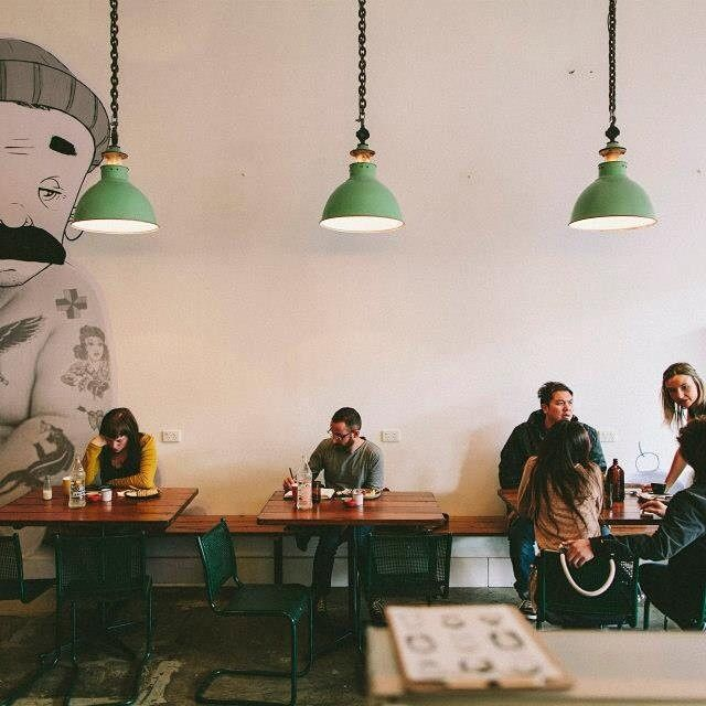 Tomboy Cafe in Melbourne