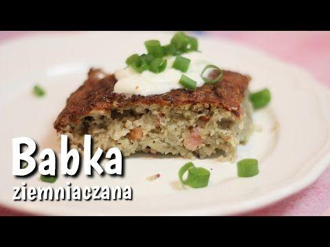 Babka ziemniaczana przepis | Kotlet.TV