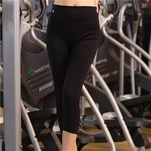 Women Running Tights Sport Pants for Workout Fitness Gym Sports Capris for Woman Elastic Running Trousers Pants S-L