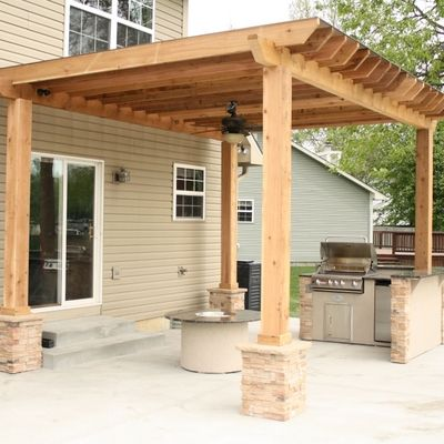 65 best images about outdoor kitchen on pinterest patio for Outdoor patio built in grills