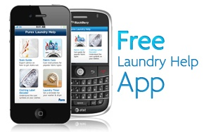 laundry help app...there is an app for everything!
