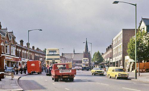 Cotteridge before summer rain.1970