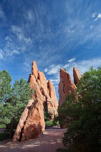 Garden of the Gods - Colorado Springs, http://www.vacationrentalpeople.com/vacation-rentals.aspx/World/USA/Colorado. I am definitely running here. I think there's a 10k race that takes place here. Better plan a few trips here to prepare...