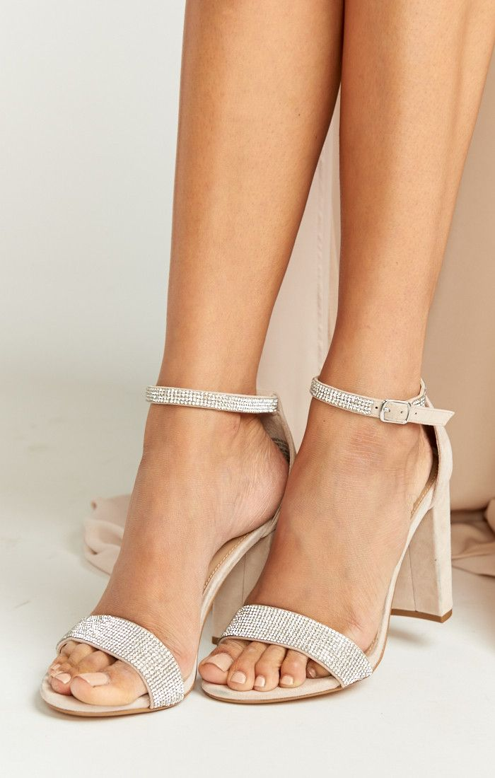 39e189be850 We re swooning over these strappy heels!