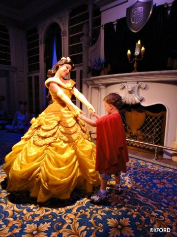 Enchanted tales with Belle where you can meet Princess Belle.....we did this and Isabella danced around with Belle.