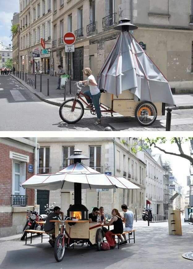 Ide-ide gerobak ini menarik dan bisa ditiru.