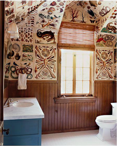 Katie Leede World Travelers Abode curiosities bathroom