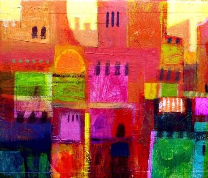 Francis Boag Romano I Mixed Media 10x10 | Scottish Contemporary Art
