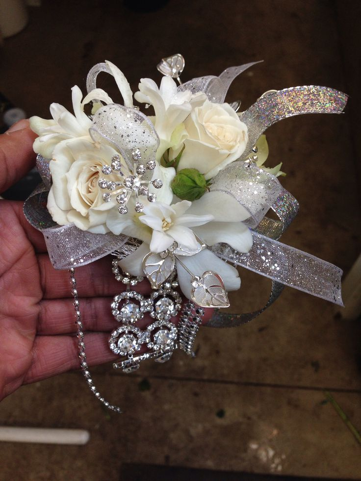 Bling!!! Prom corsage