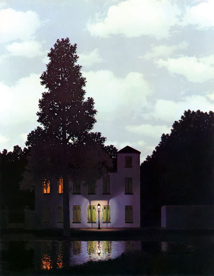 René Magritte - The Empire of Light