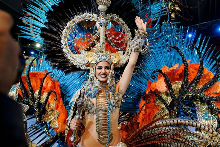 Королева карнавала Санта-Крус-де-Тенерифе 2014