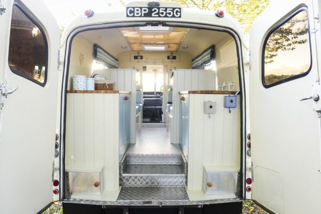 The lindner family have converted an old 1969 ambulance into a custom campervan with it also - Small spaces george clarke pict ...