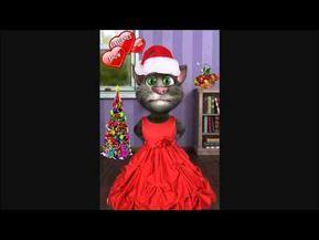 Gato Tom cantando villancicos feliz navidad canción infantil para niños con letra [HD] - YouTube