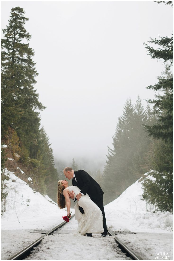 Winter Wedding Photography in Whistler | Lachlan and Emily Photography