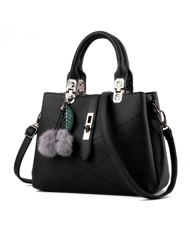 cf94cf018151f Womens Designer Purses and Handbags Ladies Tote Bags - Black - CF184I8M72Q   Bags  Handbags  Tophandlebags  gifts  Style