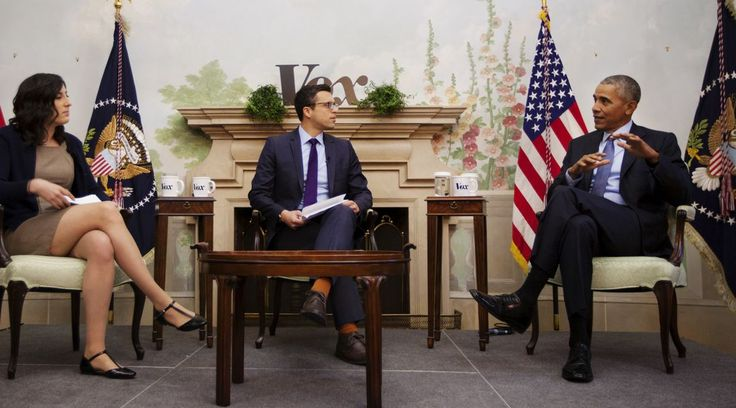 Vox's Sarah Kliff and Ezra Klein interviewed the president at the Blair House on Friday.