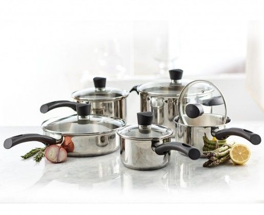 Our NEW 10 Piece Matera Cookware Set will get you through the season of comfort food in a cinch.