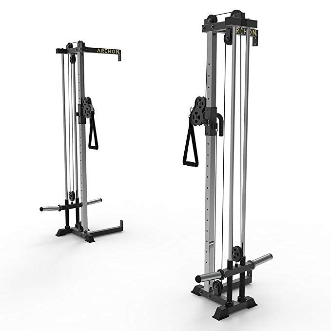 Archon Wall Mount Cable Crossover Review Home Gym Cable Crossover Machine Home Gym Equipment