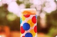 push-up pop.  When I was an elementary school teacher, I got one of these every Friday when the cafeteria sold ice cream