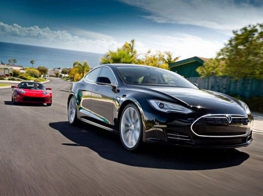 Tesla Model S, electric sedan, Motor Trend & Automobile Mag's 2013 Car of the Year. Go green!