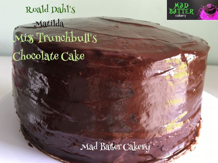 Miss Trunchbull's Chocolate Cake