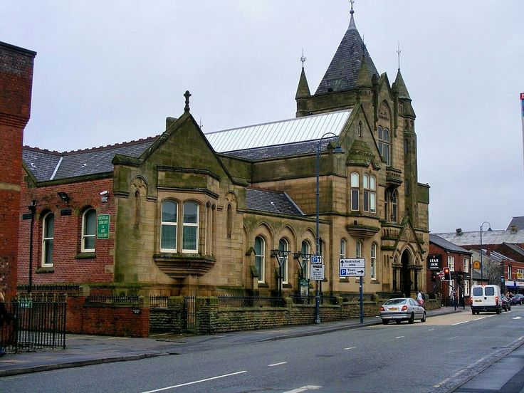 Ashton Town Library was built in the second half of the 19th century
