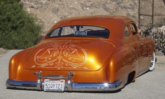 Old Cars Scrollwork Art