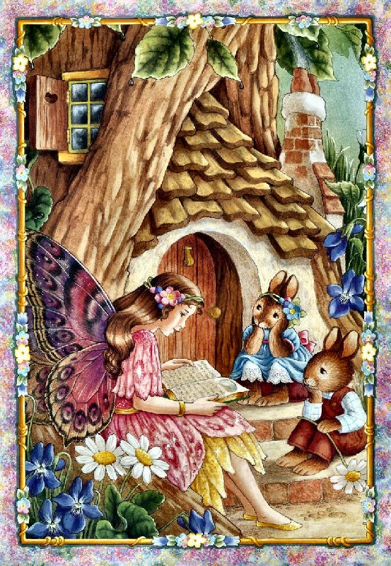 Shirley Barber fairies, little cretures to add..