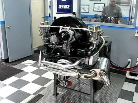 2332cc Street Bus Engine on CB Performance Dyno (made 165hp) - YouTube