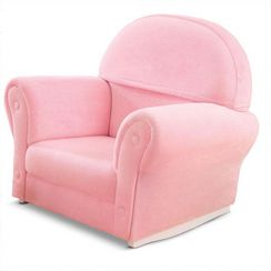 KidKraft Thickly Cushioned Upholstered Rocker