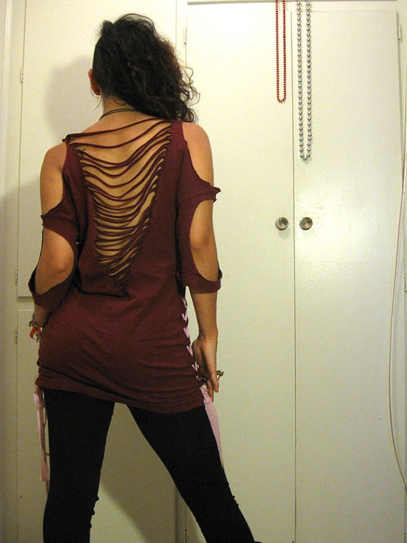 Sexy back tshirt dress by myhunnystees on Etsy, $40.00